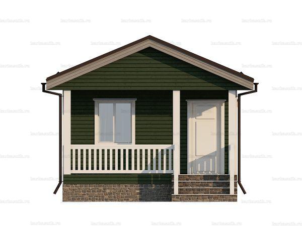 Проект каркасного дачного дома 5х4.5 для строительства под ключ