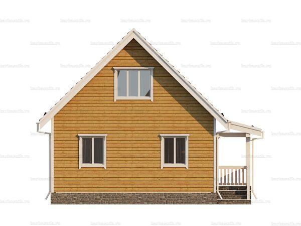 Дом из профилированного бруса 9х7 фото 3