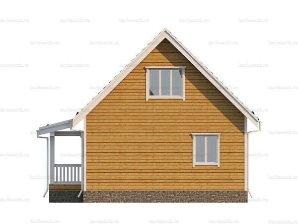 Дом из профилированного бруса 9х7 фото 5