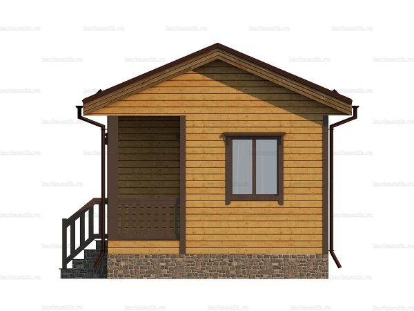 Дешевый дом 6х4.5 фото 3