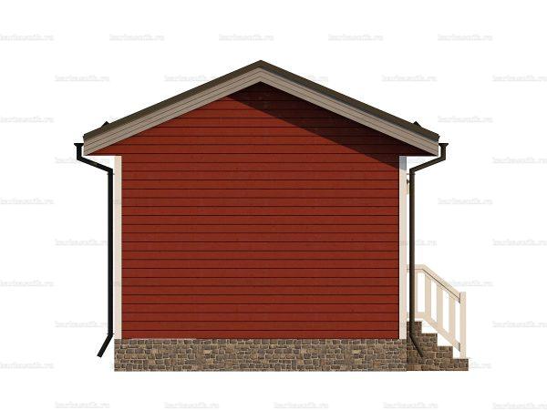 Одноэтажный щитовой дом 6х4.5 фото 3