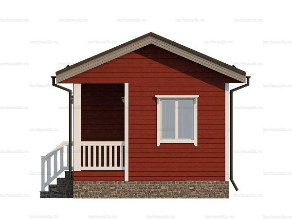 Одноэтажный щитовой дом 6х4.5 фото 5