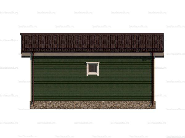 Недорогой дачный домик 8 на 6 фото 4