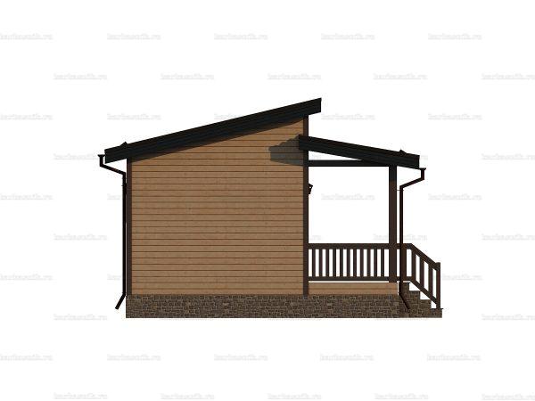 Дом с теплоизоляцией 8 на 6 фото 3