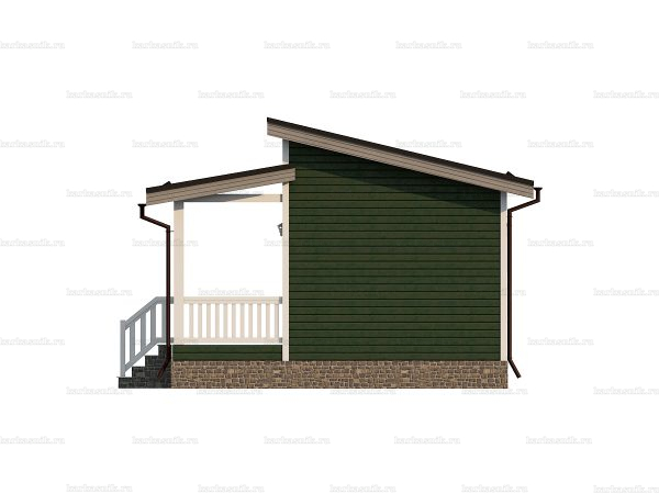 Недорогой дачный домик 8 на 6 фото 5