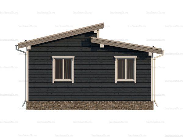 Недорогой дом для постоянного проживания 7х7 фото 4