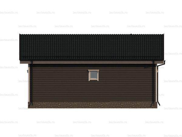 Деревянный коттедж для ПМЖ 10х8 фото 4