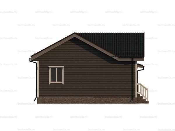 Деревянный коттедж для ПМЖ 10х8 фото 3