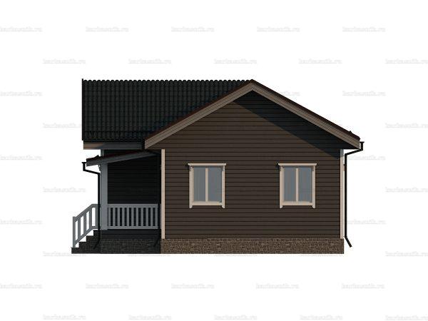 Деревянный коттедж для ПМЖ 10х8 фото 5