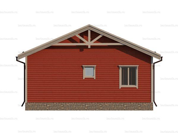 Одноэтажный дом с коттельной 9х8 фото 4