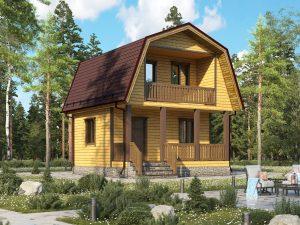 Типовой дом 6х6