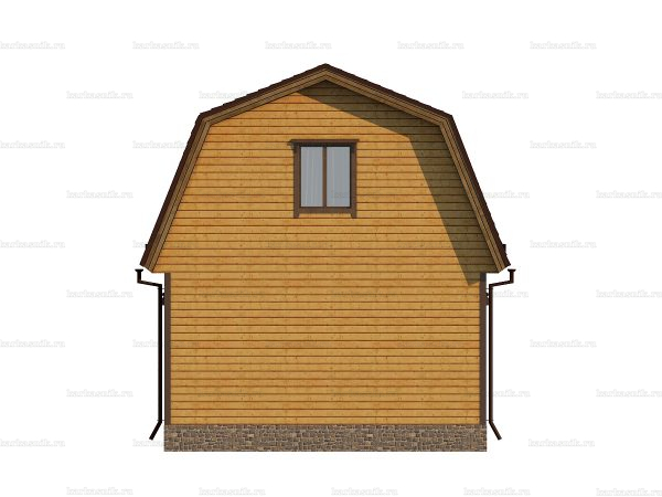 Типовой дом 6х6 фото 4