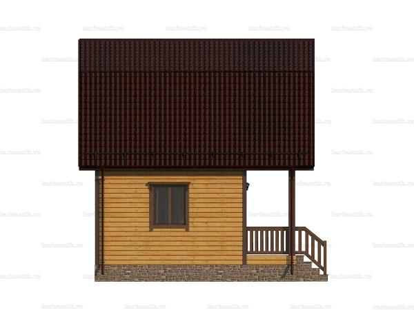 Типовой дом 6х6 фото 3