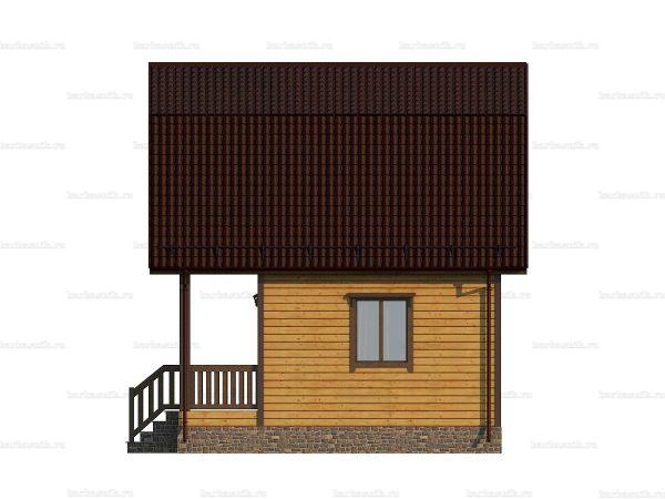 Типовой дом 6х6 фото 5