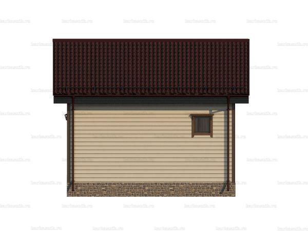 Дачный дом с туалетом 6 на 6 фото 4