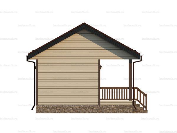 Дачный дом с туалетом 6 на 6 фото 3