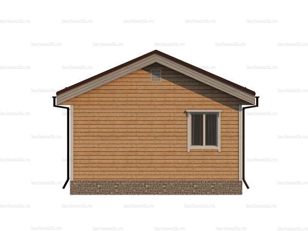Дачный дом с одной спальней 6х4 фото 4