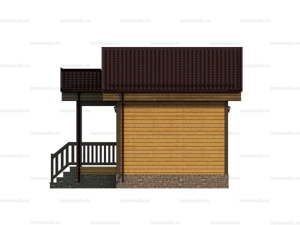 Дом для дачного участка 6х4 фото 3