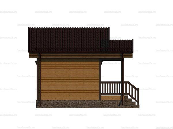 Дом для дачного участка 6х4 фото 5