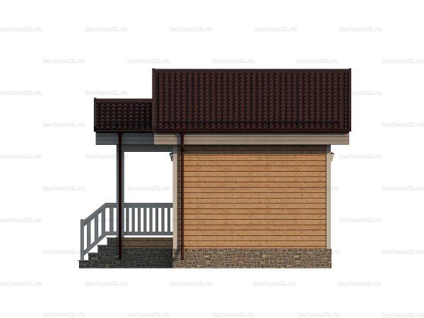 Дачный дом с одной спальней 6х4 фото 5