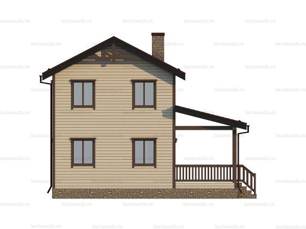 Недорогой дом под ключ 9х7.5 фото 5
