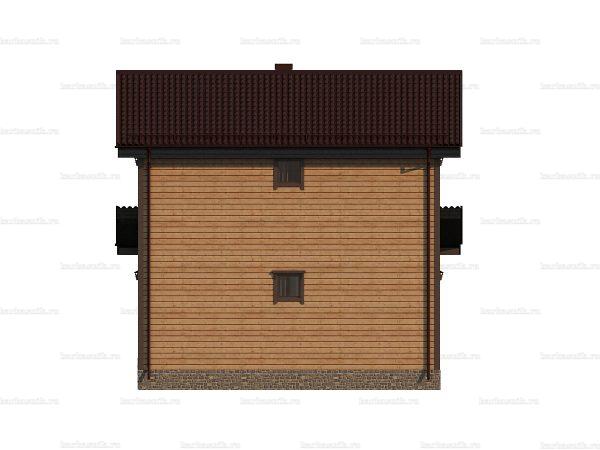 Дом из профилированного бруса 9х7.5 фото 4