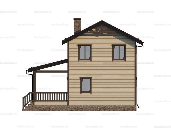 Недорогой дом под ключ 9х7.5 фото 3