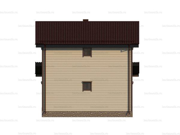 Недорогой дом под ключ 9х7.5 фото 4