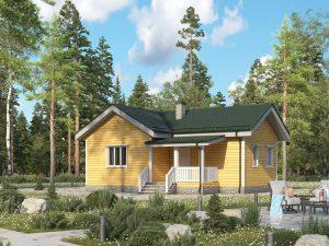 Строительство дома 10х7