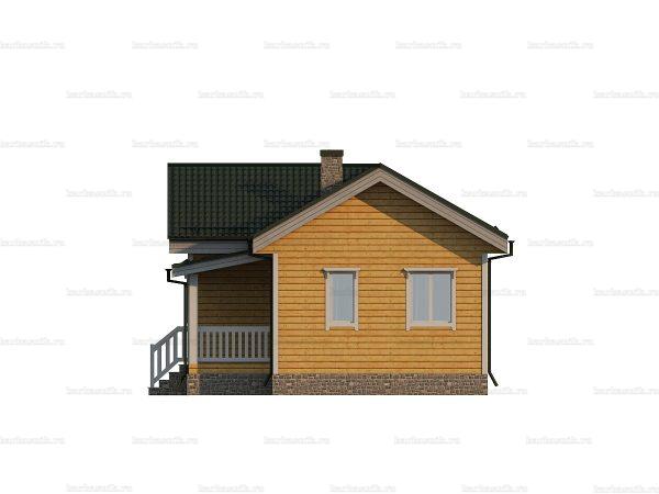 Строительство дома 10х7 фото 5
