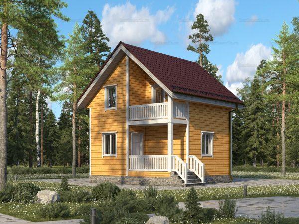 Дом из дерева 6х6