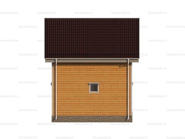 Дом из дерева 6х6 фото 4