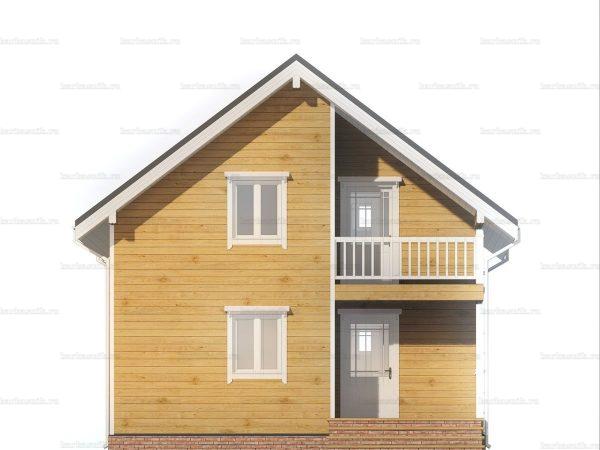 Дом с утеплением 7.5х7.5 фото 3