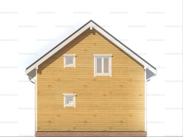 Дом с утеплением 7.5х7.5 фото 5