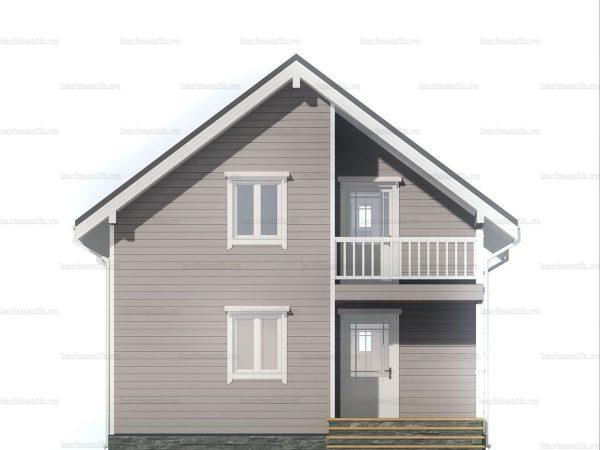 Дом под ключ с тремя спальнями 7.5х7.5 фото 3