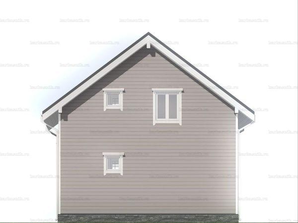 Дом под ключ с тремя спальнями 7.5х7.5 фото 5