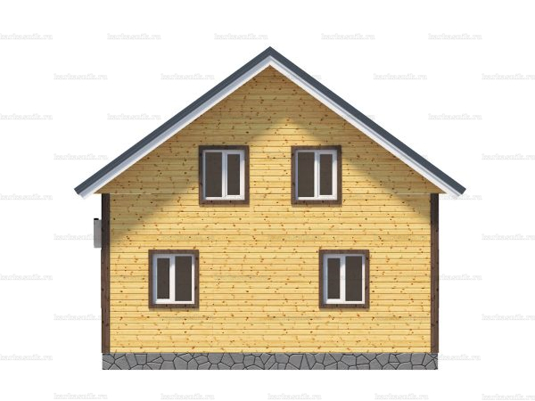 Дом с утеплением 8х8 фото 5