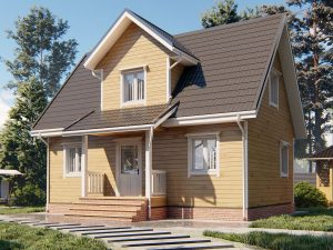 Дачный домик для ПМЖ 9х6