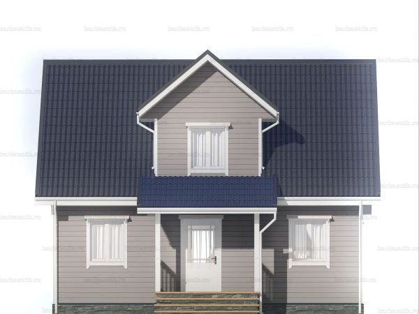 Недорогой дом для круглогодичного проживания 6х9 фото 3