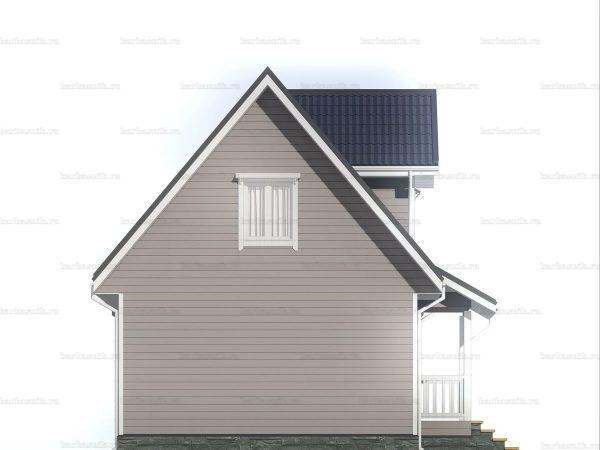 Недорогой дом для круглогодичного проживания 6х9 фото 4