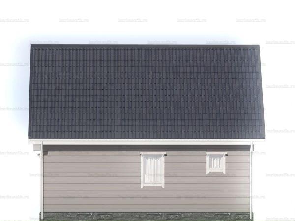 Недорогой дом для круглогодичного проживания 6х9 фото 5