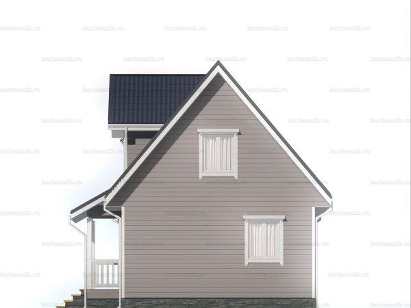 Недорогой дом для круглогодичного проживания 6х9 фото 6