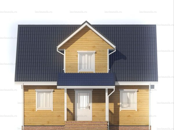 Дачный домик для ПМЖ 9х6 фото 3