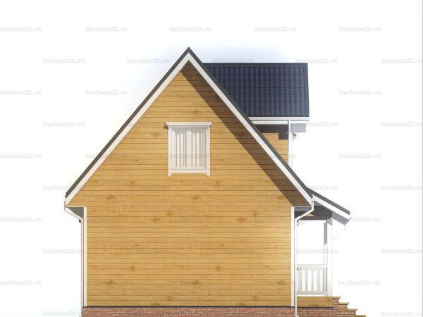 Дачный домик для ПМЖ 9х6 фото 4
