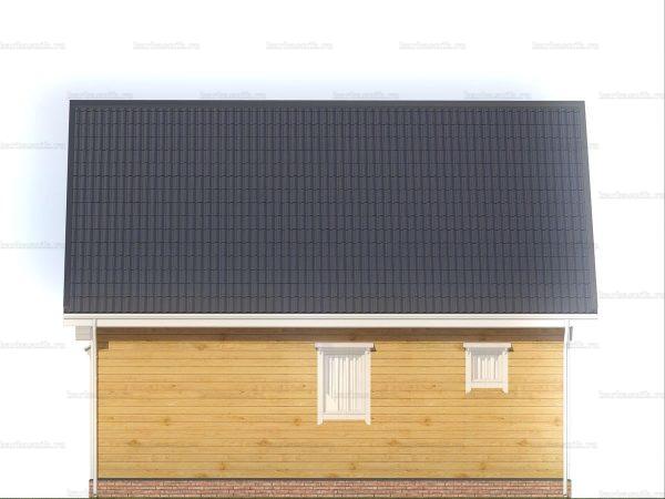 Дачный домик для ПМЖ 9х6 фото 5