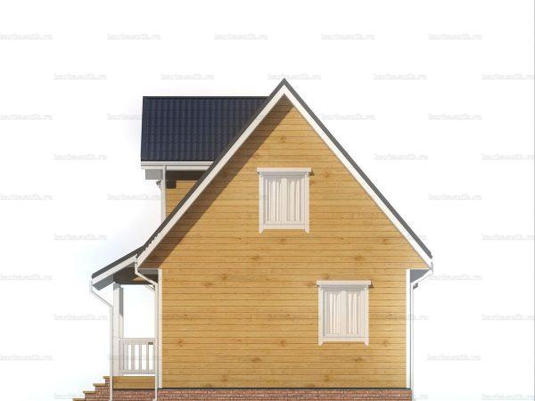 Дачный домик для ПМЖ 9х6 фото 6