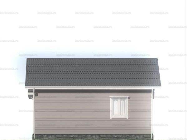 Дом с двумя комнатами для проживания 8х7.5 фото 5
