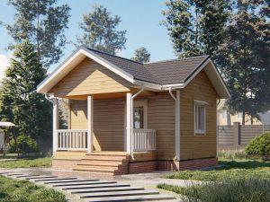 Небольшой дом 6 на 4