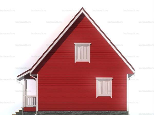 Загородный дом для проживания 8х7 фото 6