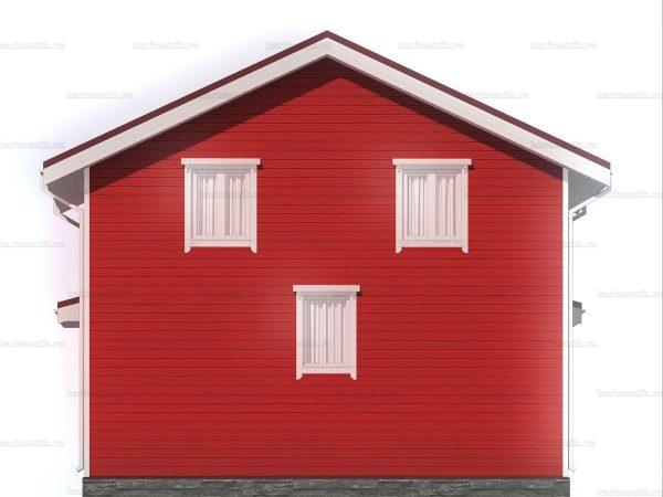 Двухэтажный дом для проживания 8х6 фото 5